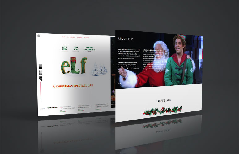 elf musical web design