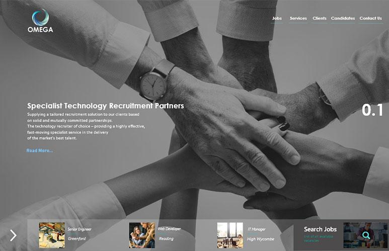 omega new website