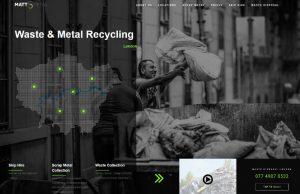 mattmetal web design