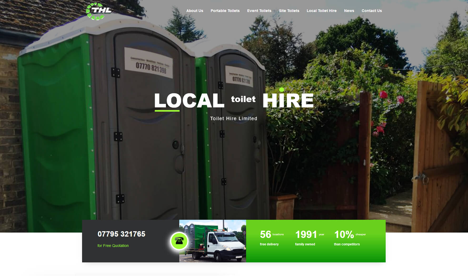 thl website design