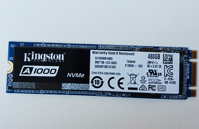 kingston A1000 SSD