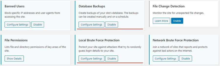 database backup protection